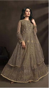 designer copper color suit KEKKZRA1530