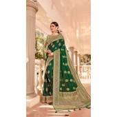 Green Designer Classic Wear Silk Saree ROT9035107724
