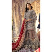 Designer Party wear Pakistani suit in Grey color ROT9478111607
