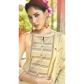ROTRT1375-129495 Designer Festive Wear Cotton Mal Gharara Suit