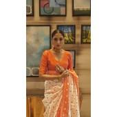 ROTRT1399-129679 Kanjeevaram Designer Traditional Wear Saree