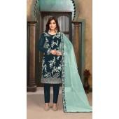 ROTRT1402-129703 Designer Festive Wear Faux Georgette Salwar Suit