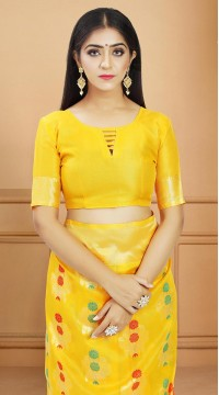 ROTRT1514-130735 Banarasi Designer Party Wear Poly Silk Saree