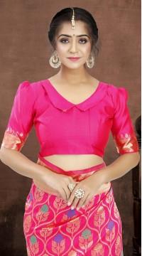 ROTRT1521-130770 Banarasi Designer Party Wear Poly Silk Saree