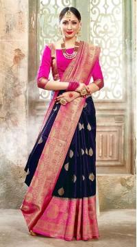 ROTRT1523-130783 Banarasi Designer Traditional Wear Banarasi Art Silk Saree
