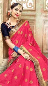 ROTRT1523-130787 Banarasi Designer Traditional Wear Banarasi Art Silk Saree