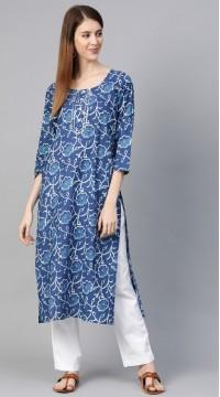ROTRT1067-127035 Blue Color Designer Party Wear Kurti