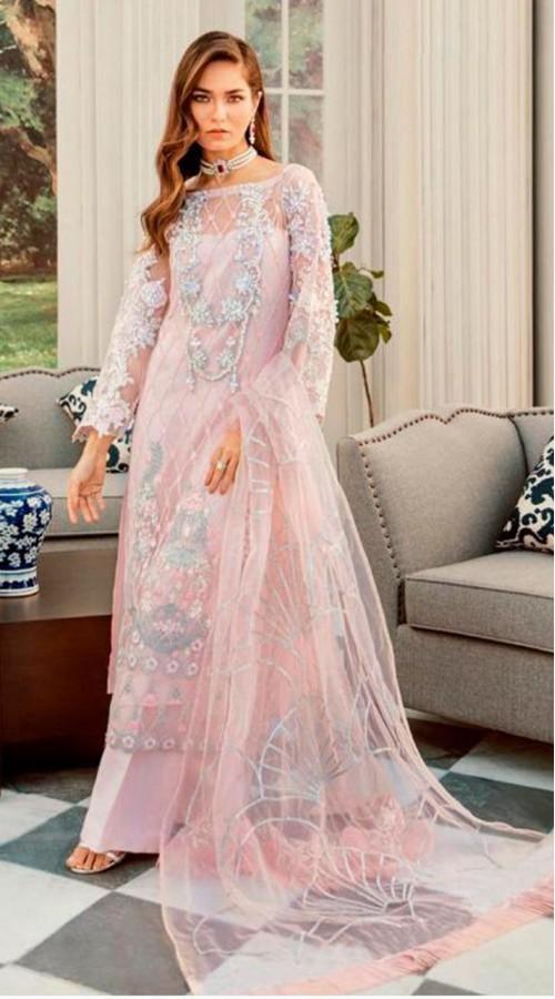 Designer Party Wear Salwar Suit in Light Pink color ROT9251109617