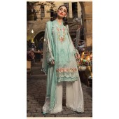 Designer party wear sea Green Pakistani style suit ROT9271109809