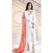Designer party wear White color Pakistani style suit ROT9271109810
