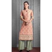 Heavy Designer party wear Readymade Mix Print suit ROT9310110139