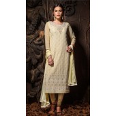 Heavy Designer party wear Readymade Yellow suit ROT9310110143