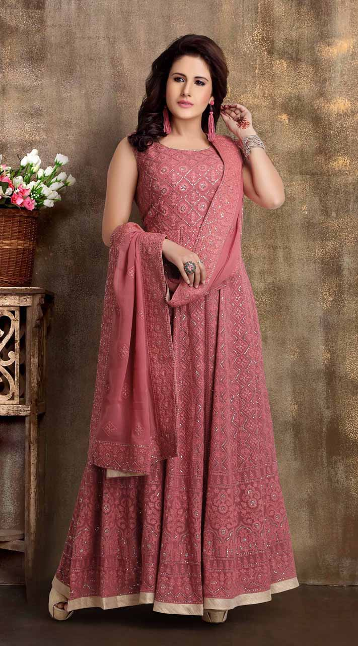 Heavy Designer party wear Readymade Light Wine suit ROT9310110152