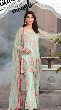 Premium Quality Green color Georgette Designer Pakistani Salwar Kameez SURKR2659926