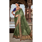 KMPSNHV16-1401 Traditional Silk Saree