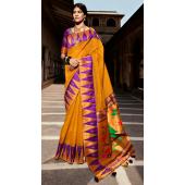 KMPSNHV16-1402 Traditional Silk Saree