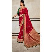 KMPSNHV16-1405 Traditional Silk Saree