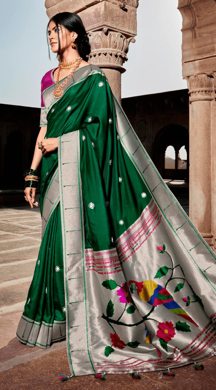 KMPSNHV16-1406 Traditional Silk Saree