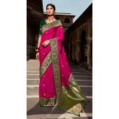 KMPSNHV16-1409 Traditional Silk Saree