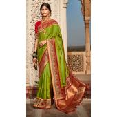 KMPSNHV16-1410 Traditional Silk Saree
