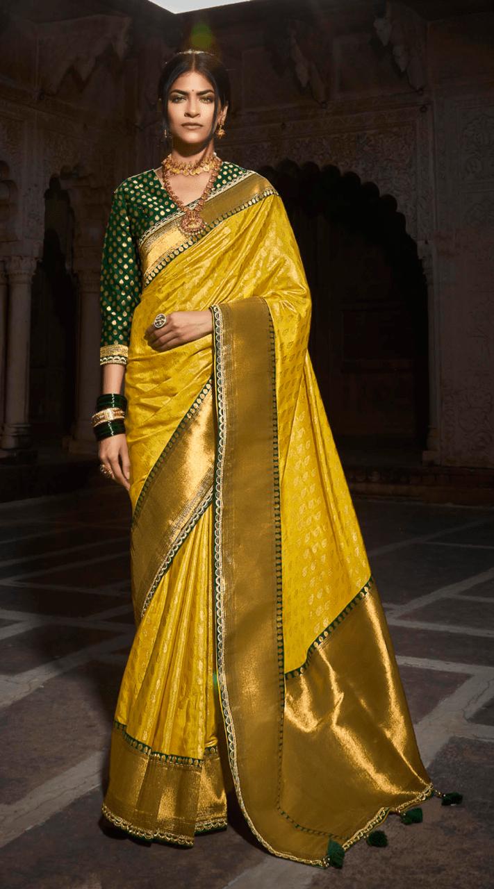KMPSNHV16-1412 Traditional Silk Saree