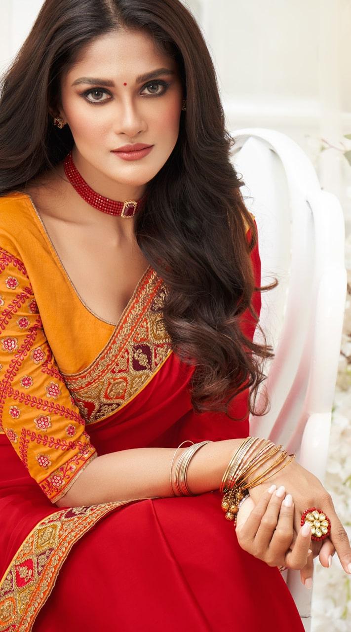 KMPRK2-9201 Indian Traditional silk saree