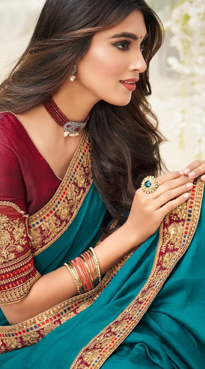 KMPRK2-9202 Indian Traditional silk saree