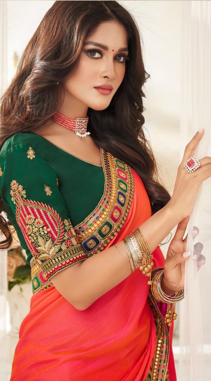 KMPRK2-9213 Indian Traditional silk saree