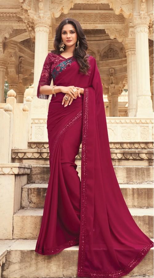 KEKIMPSW801 Vine Color Silk saree