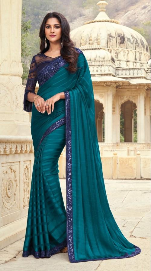 KEKIMPSW811 Blue Color Silk saree