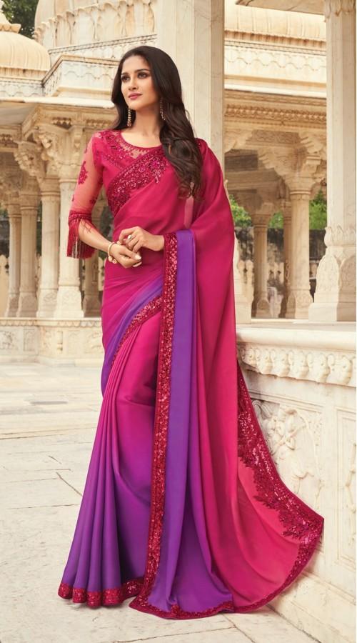 KEKIMPSW816 pink Color Silk saree