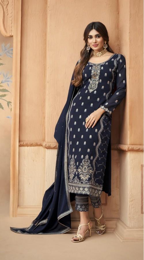 nfmhni96004 BLUE color Salwar kameez suit