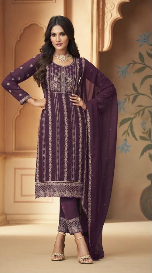 nfmhni96006 PURPLE color Salwar kameez suit