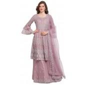stylddm118-2790 Pink color semi stitched Exclusive Designer Partywear Salwar Suit