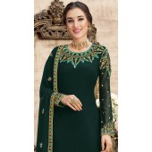 stylddm149-2994 Green color Exclusive Georgette Embroidered suit